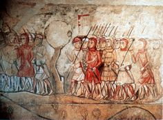 Late-C13th-army-wall-painting-former-royal-palace-Barcelona.jpg 1,993×1,478 pixels