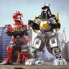Dragonzord and TRex