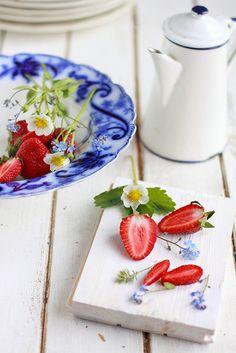 Strawberries by Cintamani, via Flickr