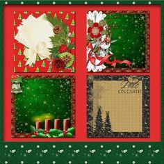 Welkom bij Creative Scrapmom: Fun in scrapbooking 4 christmaspapers5