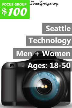 $100 for a new technology study! Fieldwork Seattle is looking for people age 18 and 50 to participate in paid focus groups on Technology. The groups will take place in our client's office the week of March 13th. Participants will receive a $100 electronic Visa card for their participation. If you are interested in participating, please sign up and take the survey to see if you qualify!