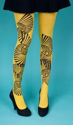 Les queues de sardines - Crop - yellow #tights