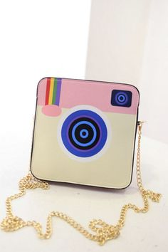 Pink Instagram Tote Cross Body Purse