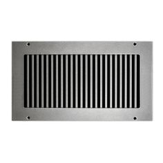 Our Pro-Vertical Vent Cover offers modern refinement, and conveys a clear sense of style. Available in any over 50 sizes, or order a custom size.