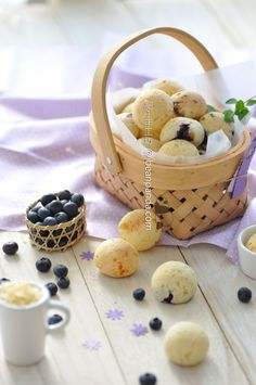 Blueberry cheese Mochi Bread 藍莓芝士麻糬波波 ~ 醬爆滋味 | 肥丁手工坊 Beanpanda Cooking Diary