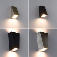 Beautiful Au enleuchte Edelstahl Au enlampe Wandleuchte Wandlampe UP DOWN Leuchte in Heimwerker Lampen u Licht