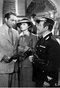 Casablanca : Photo Claude Rains, Ingrid Bergman, Michael Curtiz, Paul Henreid