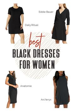 We've compiled a few of our favorite dresses along with our reader favorites. Which one will you bring on your next trip? #TravelFashionGirl #TravelFashion #TravelClothing #blackdress #traveldress #dressesforwomen