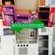 diy play kitchen I want to make this SO badly! Adorable!!