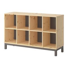 IKEA - NORNÄS, £130 143cm x 40cm x 88cm  Glass storage, space for lead crate underneath?