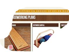 Ah! E se falando em madeira...: projetos free da Rockler, catalogo no blog