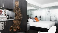 Street Art Rooms | The Cullen Hotel | Boutique Melbourne Accommodation