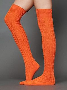 Free the people thigh high sock $28.00