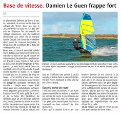 Nouveau record en rade de #Brest avec Damien Le Guen qui frappe très fort avec un run à 38,22 noeuds sur 500 m http://www.basevitessebrest.com/actualites-voile/181-nouveau-record-rade-brest.html