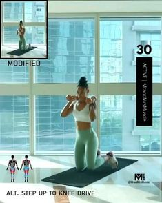 Fitness Workouts, Full Body Hiit Workout, Gym Workout Videos, Fitness Workout For Women, Butt Workout, Song Workouts, Cheer Workouts, Morning Workouts, Pilates Workout