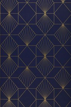 Ideas For Geometric Art Deco Pattern Design Moda Art Deco, Arte Art Deco, Estilo Art Deco, Art Deco Print, Art Prints, Geometric Patterns, Textures Patterns, Geometric Art, Blue Patterns