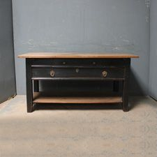 A smart antique table sourced from Germany