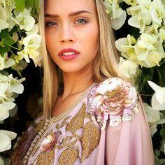 "46 Likes, 7 Comments - Radia Sultan (@radiasultan) on Instagram: ""We love flowers !  #radiasultan #kaftan #caftan #gandoura #maroc #morocco #kaftans #marrakech…"""