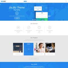 DO.BIZ – Business and Portfolio WordPress Theme | Best WordPress Themes 2014