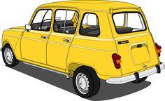 Renault 4 #renault