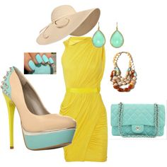 Spring Fun, created by dnchinchilla on Polyvore