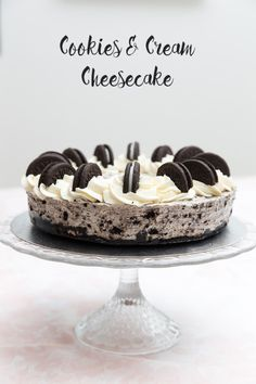 Vis innlegget for mer. Cookies And Cream Cheesecake, Pudding Desserts, Tiramisu, Nom Nom, Ethnic Recipes, Food, Essen, Meals, Tiramisu Cake