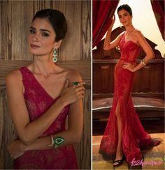 OSCAR 2015: CAROLINE RIBEIRO    por Thereza Chammas | Fashionismo       - http://modatrade.com.br/oscar-2015-caroline-ribeiro