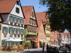 Dinkelsbuhl, Germany - on the Romantic Road
