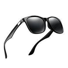 47ec69d45a8 MOORAY Aviator Polarized Sunglasses for Men and Women