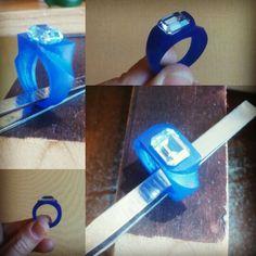 Quarzo blu. Work in progress