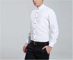 Col Lavalliere, Cols, Chemise, Chemise Blanches Pour Homme, Chemises  Blanches, Lêve 9a2882dca754