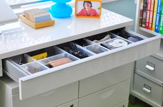 How to organize your drawers.