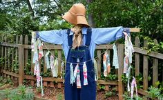 Whether you need a scarecrow to scare away the intruders to your garden or you want your outdoor spaces to scream summer harvest or fall fun...look no further. Check out this post on how to make a scarecrow...and by the way, it's REALLY easy!