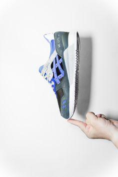 """"""" ASICS x Sneaker Freaker GLlll """"Alvin Purple""""  """""""