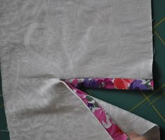 Sigrid - sewing projects: Making a sleeve slit in a shirt