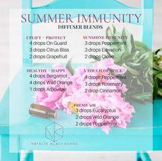 Summer immunity blends