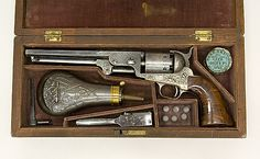 The Metropolitan Museum of Art - Cased Colt Model 1851 Navy Percussion Revolver, ser. no. 29705, with accessories