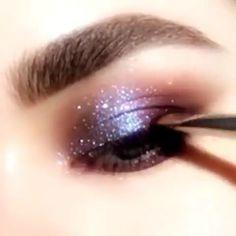 eye makeup ideas videos - Make UP Ideen Makeup Goals, Makeup Inspo, Makeup Inspiration, Beauty Makeup, Prom Makeup, Eyeshadow Makeup, Makeup Brushes, Hair Makeup, Makeup Shop