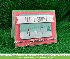 SnowDayPaper_KellyAlvarez5 by Lawn Fawn Design Team, via Flickr