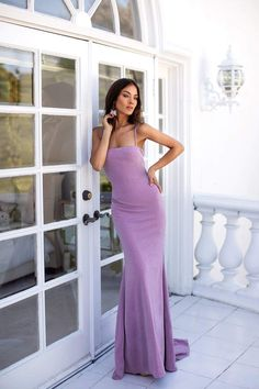 Stefania - Lilac - Lilac Square Neck Bodycon Formal/Prom Dress – Alamour The Label Source by natwoseok - Prom Outfits, Grad Dresses, Dance Dresses, Chic Outfits, Evening Dresses, Wedding Dresses, Bridesmaid Gowns, Fall Dresses, Dress Outfits