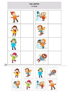 Preschool Learning Activities, Winter Activities, Toddler Preschool, Preschool Activities, Kids Learning, Winter Crafts For Kids, Worksheets For Kids, Childhood Education, Kindergarten