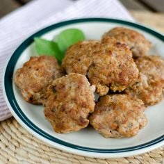 Quick and easy paleo breakfast sausage recipe. With just a few ingredients, you can have sausage patties ready to cook or freeze in less than 5 minutes.