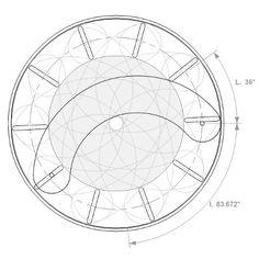 Iris calculator - great help in making steampunk mechanical iris
