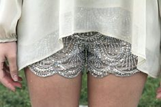 Pretty shorts- I find it hard to pull off dressy shorts but these are so pretty!