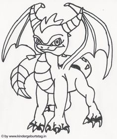 skylanders chompy coloring pages - photo#6