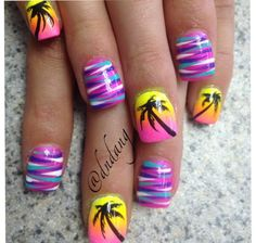Palm tree summer fun!