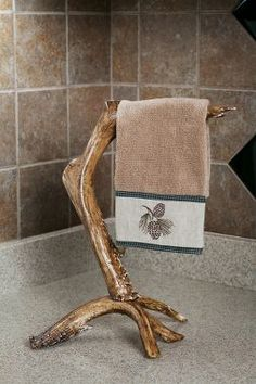 Faux-Antler Hand-Towel Bar Stand : Cabela's