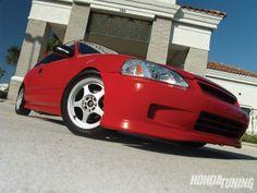 1997 Honda Civic Hatchback - 1994 JDM H22A Engine - Honda Tuning ...