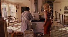 Minnie and Celia in the kitchen-The Help