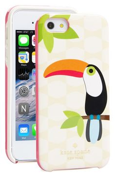 kate spade new york 'toucan' iPhone 5 & 5s case available at #Nordstrom